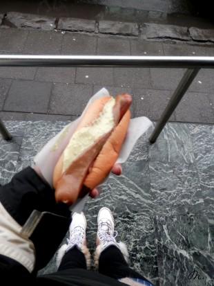 Hot dog - Bæjarins Beztu Pylsur
