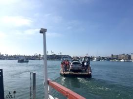 Ferry pour aller de Balboa Island à Balboa Peninsula